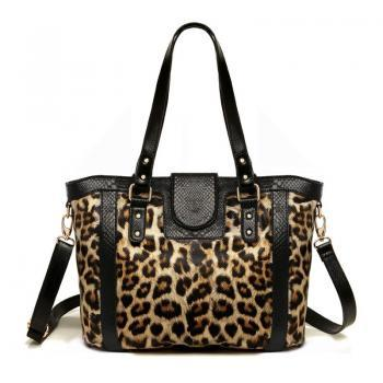 cute leopard print handbag for women on luulla